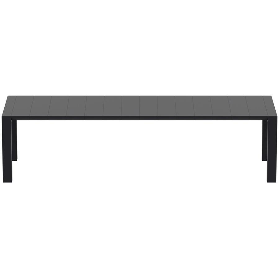 Tuintafel - Vegas XL - Zwart - Uitschuifbaar 260/300 cm-3