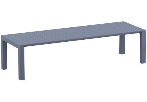 Tuintafel - Vegas XL - Donkergrijs - Uitschuifbaar 260/300 cm