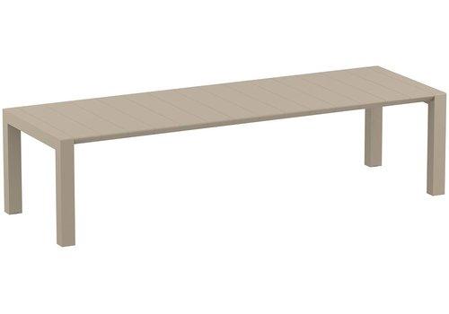Tuintafel - Vegas XL - Taupe - Uitschuifbaar 260/300 cm