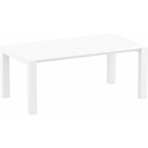 Siesta  Tuintafel - Vegas Medium - Wit - Uitschuifbaar 180/220 cm