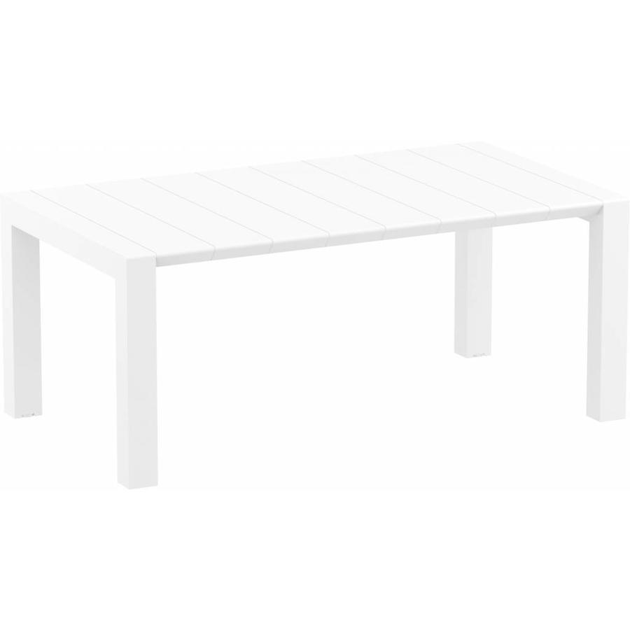 Tuintafel - Vegas Medium - Wit - Uitschuifbaar 180/220 cm-1