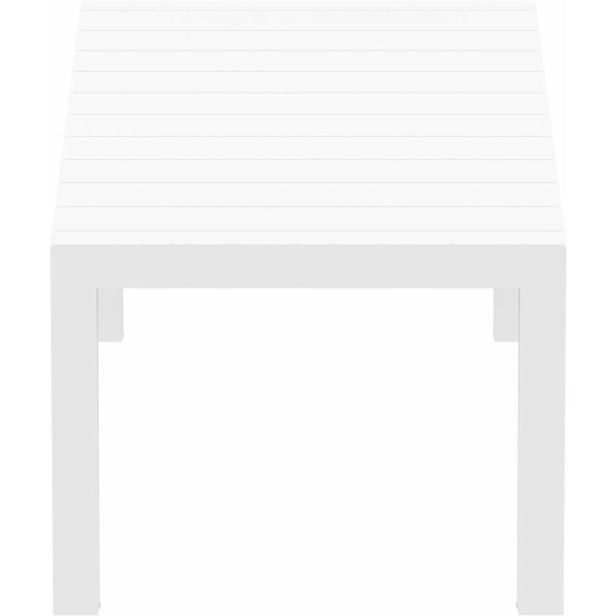Tuintafel - Vegas Medium - Wit - Uitschuifbaar 180/220 cm-5