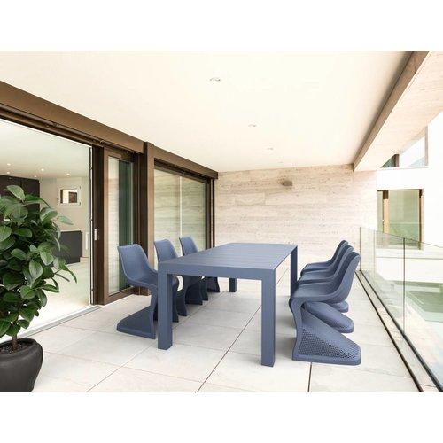 Siesta  Tuintafel - Vegas Medium - Donkergrijs - Uitschuifbaar 180/220 cm