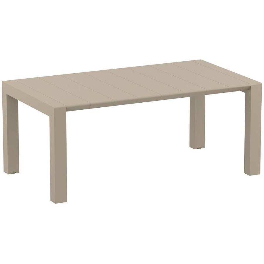Tuintafel - Vegas Medium - Taupe - Uitschuifbaar 180/220 cm-1