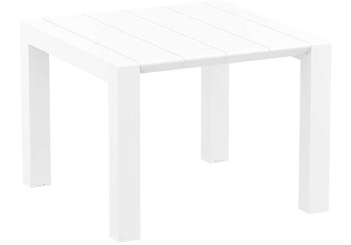 Tuintafel - Vegas - Wit - Uitschuifbaar 100/140 cm