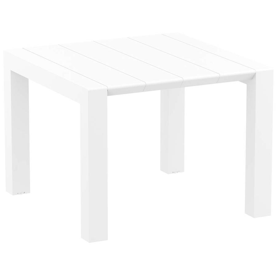 Tuintafel - Vegas - Wit - Uitschuifbaar 100/140 cm-1