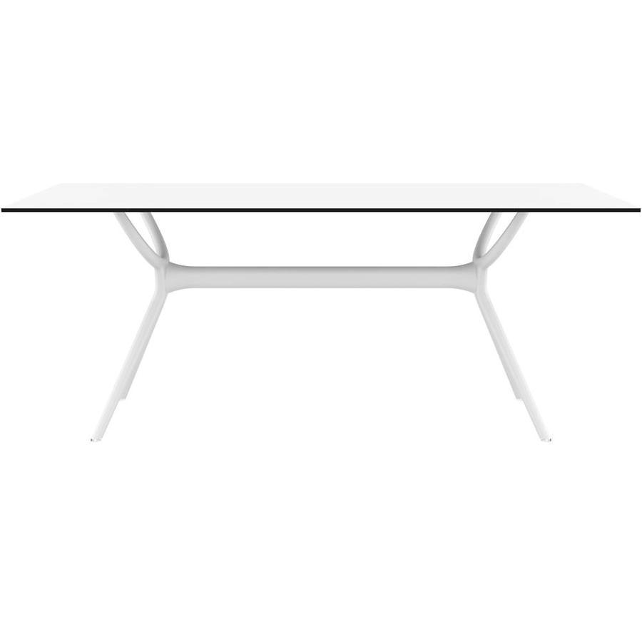 Tuintafel - Air - Wit - 180x90x74 cm - Siesta-2