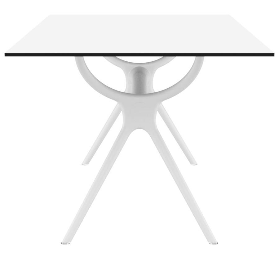 Tuintafel - Air - Wit - 180x90x74 cm - Siesta-3