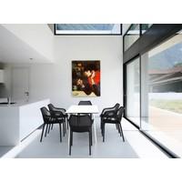 thumb-Tuintafel - Maya - Wit - 140x80x73 cm - Siesta-8