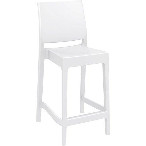 Siesta  Counter Barkruk - 65 cm - Maya - Wit - Siesta