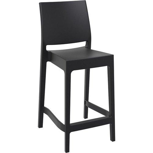 Siesta  Counter Barkruk - 65 cm - Maya - Zwart - Siesta