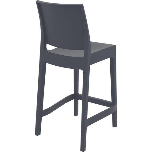 Siesta  Counter Barkruk - 65 cm - Maya - Donkergrijs - Siesta