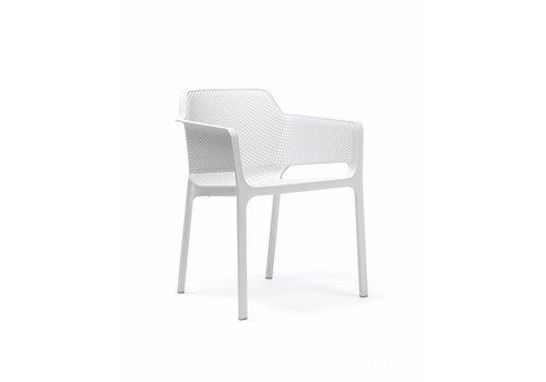 Dining Tuinstoel - NET - Bianco - Wit - Nardi