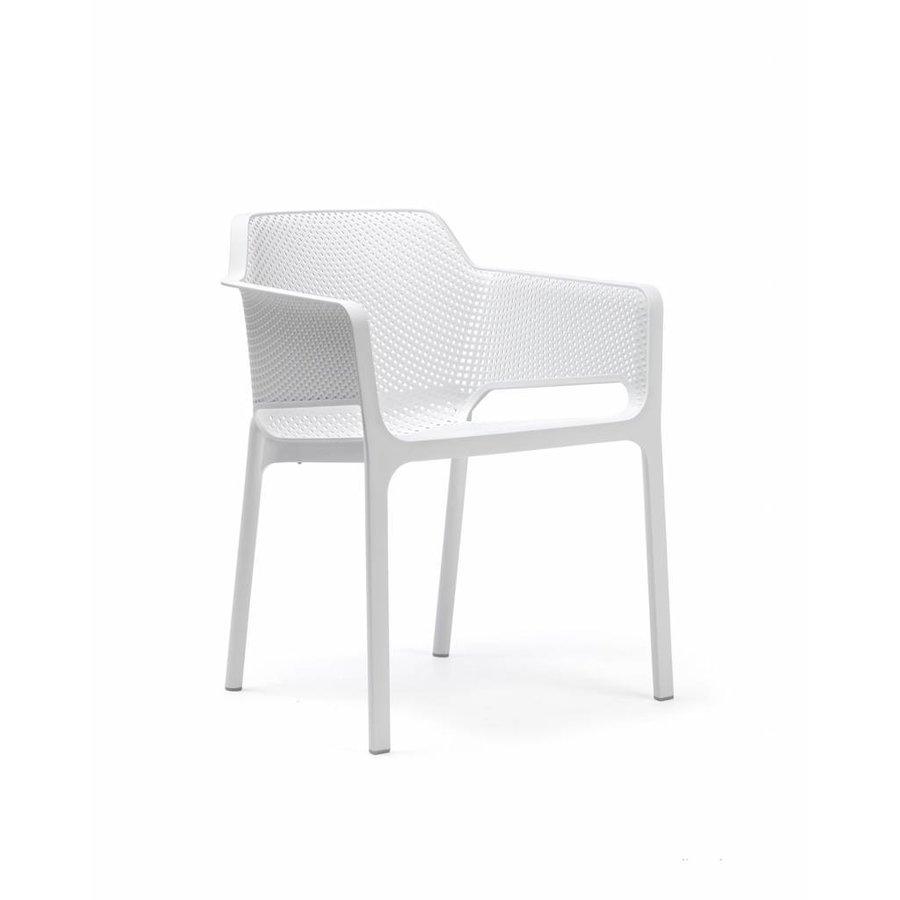 Dining Tuinstoel - NET - Bianco - Wit - Nardi-1