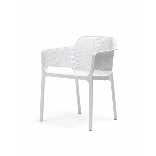 Nardi Dining Tuinstoel - NET - Bianco - Wit - Nardi