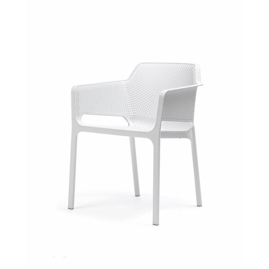 Dining Tuinstoel - NET - Bianco - Wit - Nardi-3