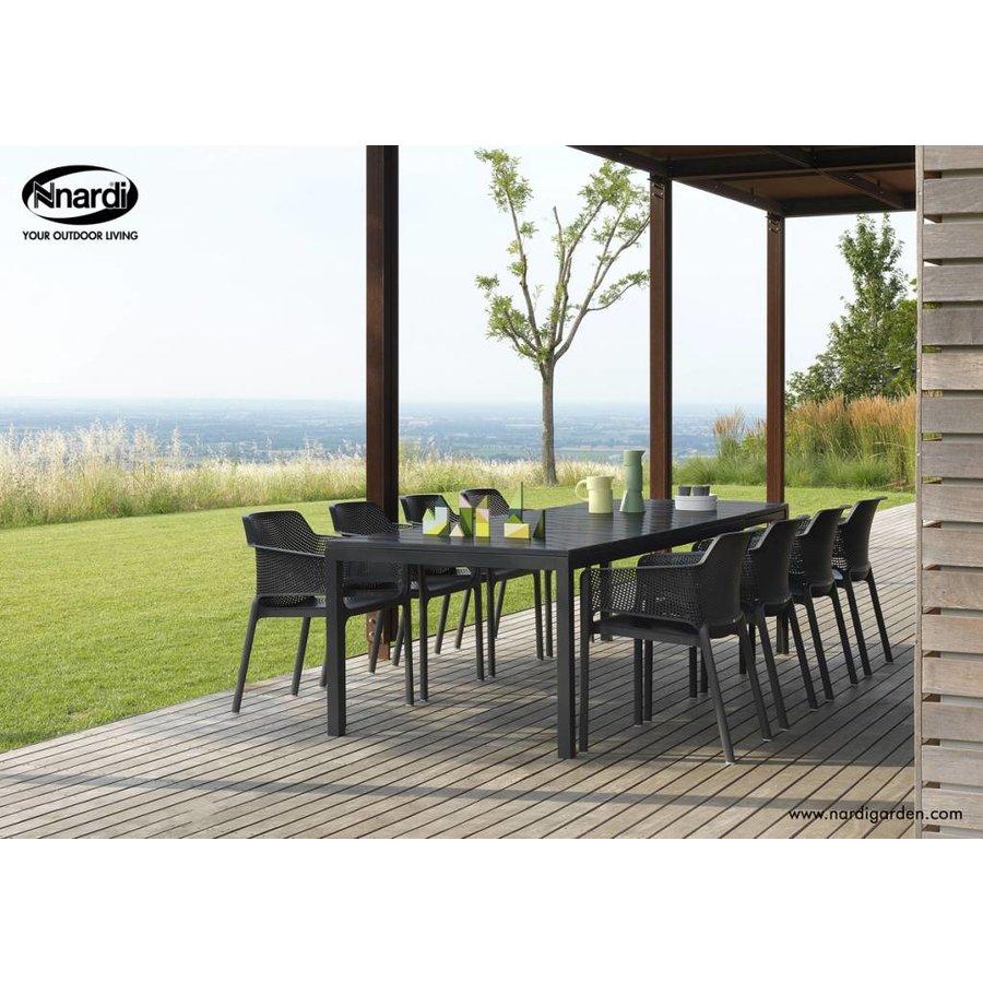 Dining Tuinstoel - NET - Antraciet - Nardi-3
