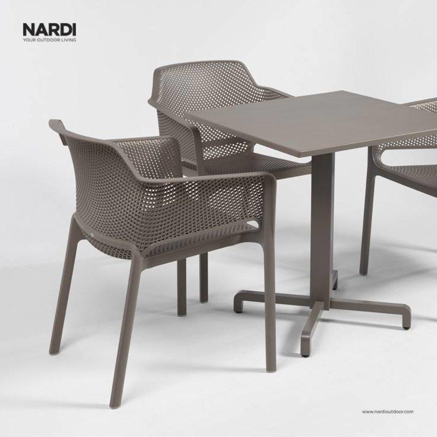Dining Tuinstoel - NET - Tortora - Taupe - Nardi-3