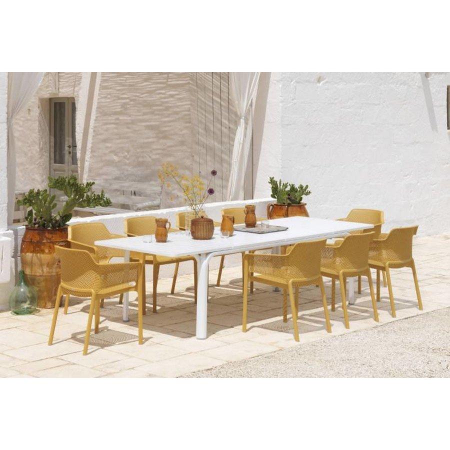 Dining Tuinstoel - NET - Senape - Mosterd Geel - Nardi-3