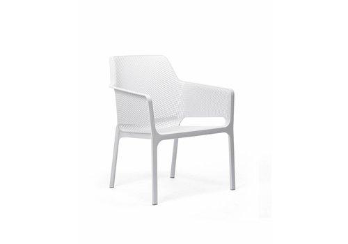 Lounge Tuinstoel - NET Relax - Bianco - Wit - Nardi