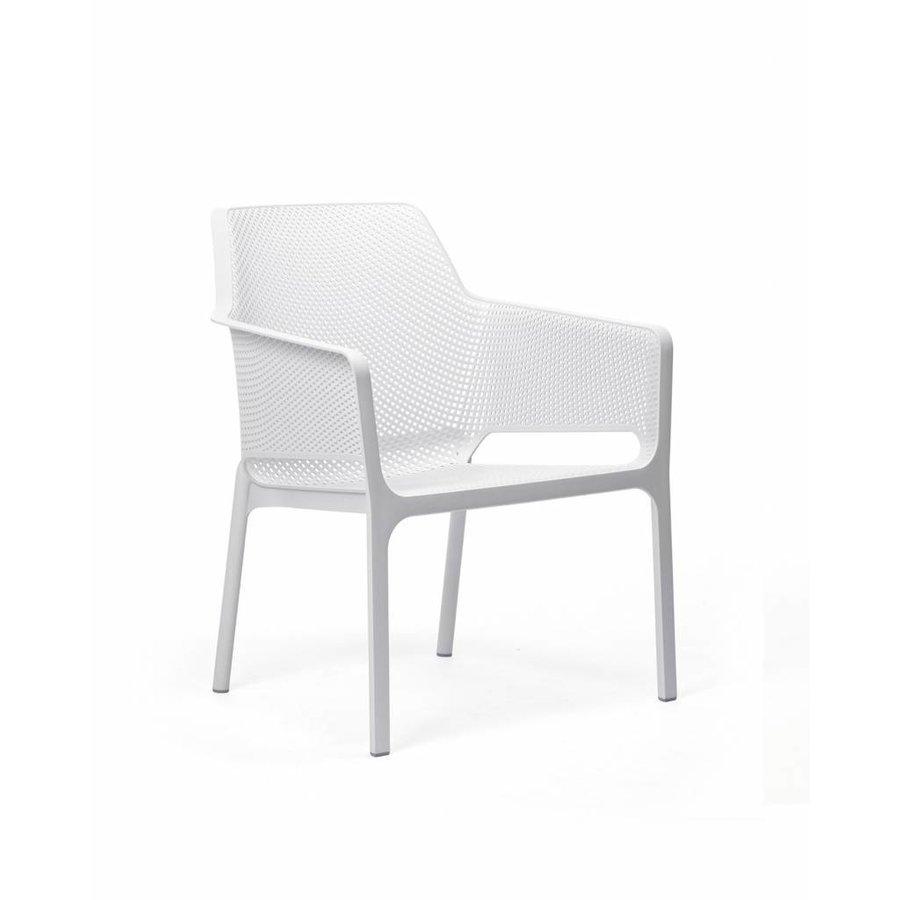 Lounge Tuinstoel - NET Relax - Bianco - Wit - Nardi-1