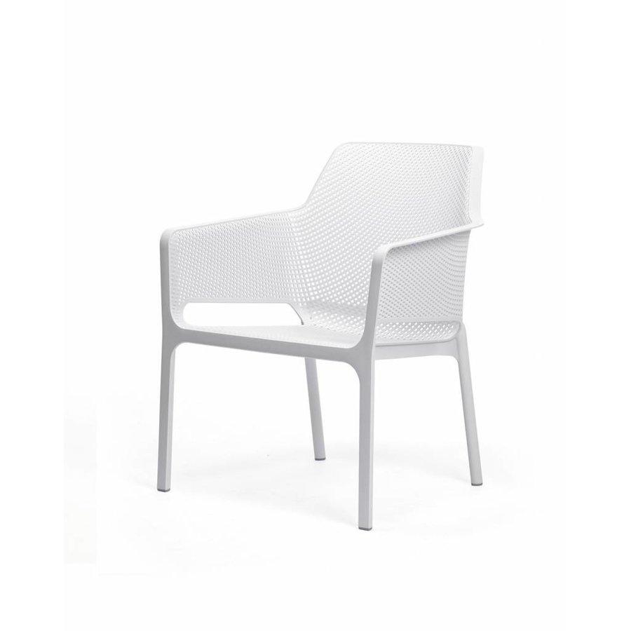 Lounge Tuinstoel - NET Relax - Bianco - Wit - Nardi-2
