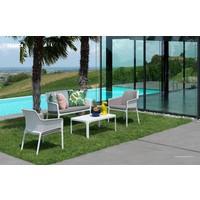 thumb-Lounge Tuinstoel - NET Relax - Bianco - Wit - Nardi-3