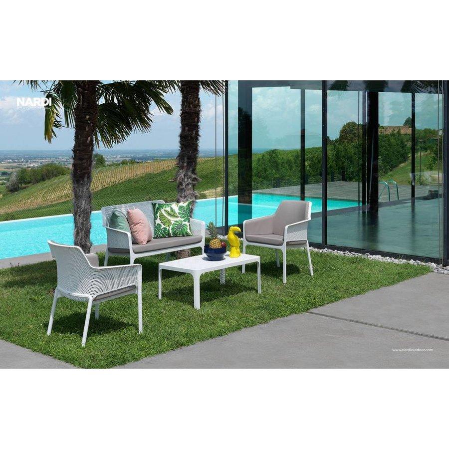 Lounge Tuinstoel - NET Relax - Bianco - Wit - Nardi-3