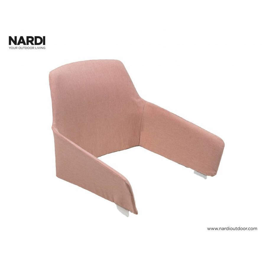 Lounge Tuinstoel - NET Relax - Corallo - Rood - Nardi-7
