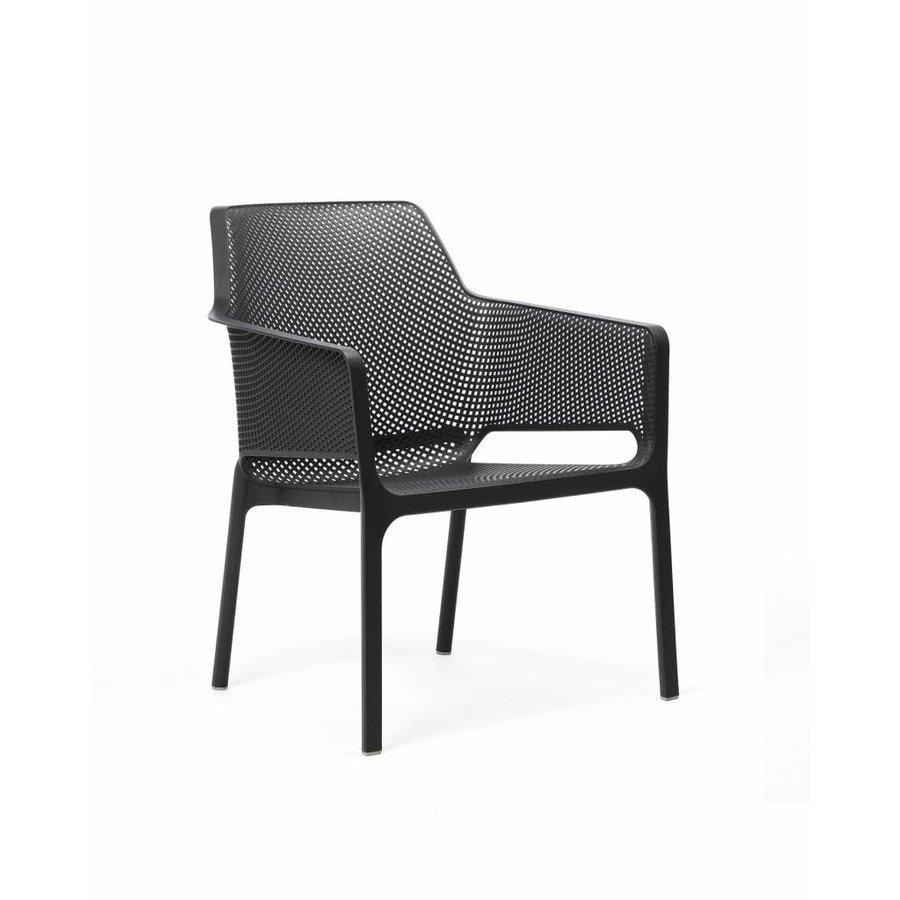 Lounge Tuinstoel - NET Relax - Antraciet - Nardi-1