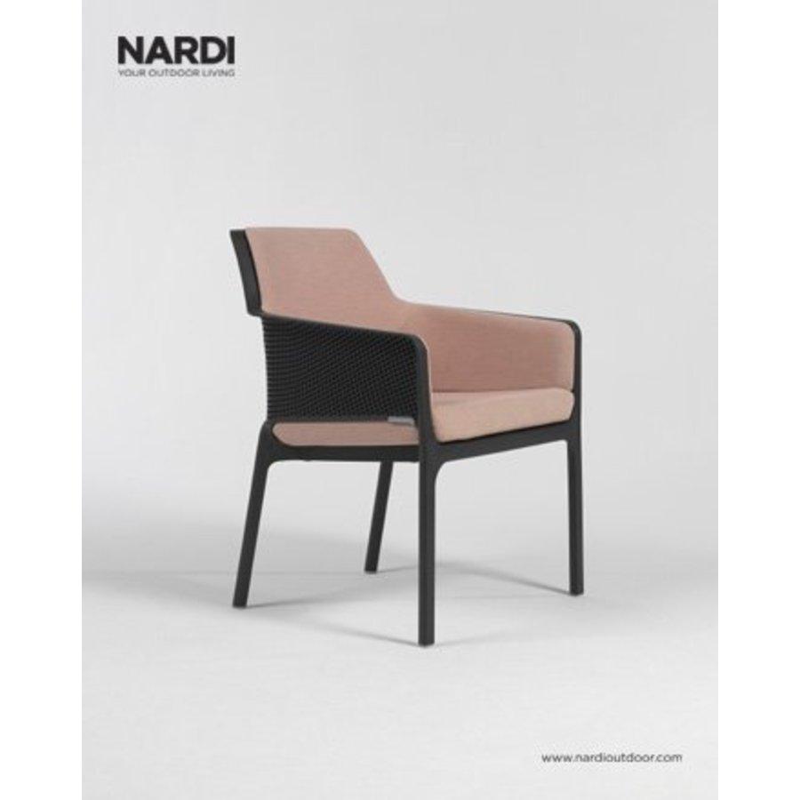 Lounge Tuinstoel - NET Relax - Antraciet - Nardi-4