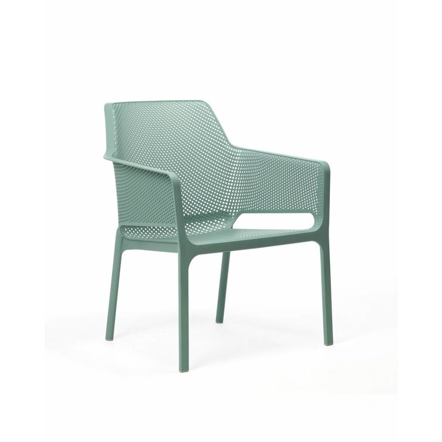 Lounge Tuinstoel - NET Relax - Salice - Zeegroen - Nardi-1
