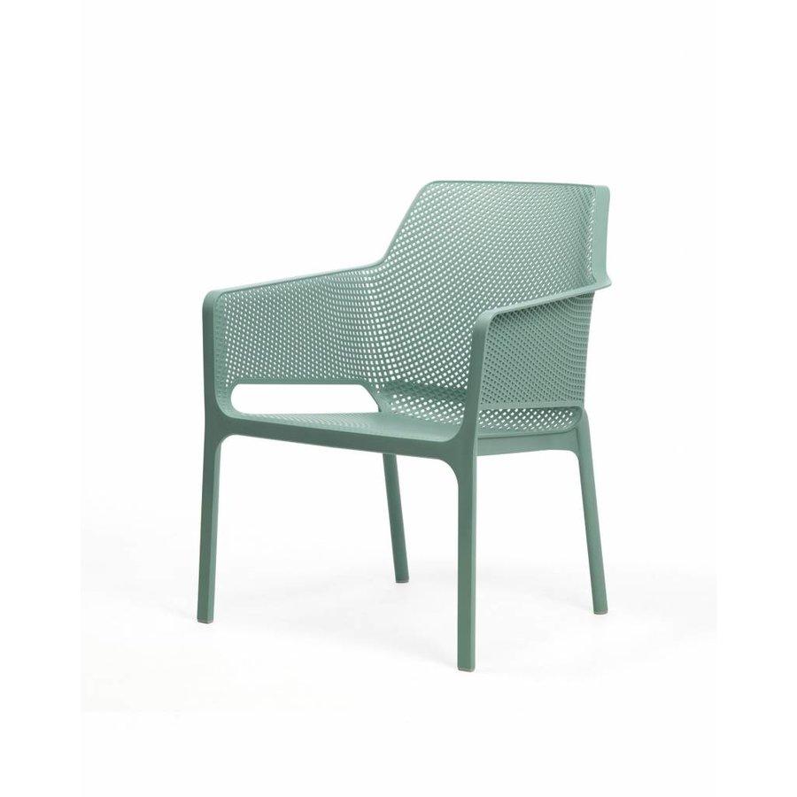 Lounge Tuinstoel - NET Relax - Salice - Zeegroen - Nardi-2
