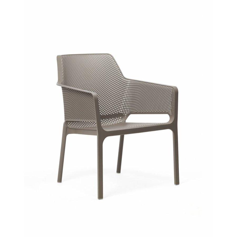 Lounge Tuinstoel - NET Relax - Tortora - Taupe - Nardi-1