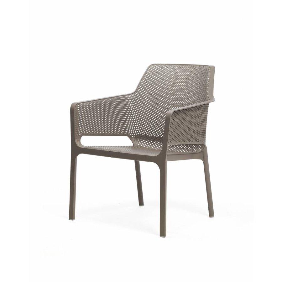 Lounge Tuinstoel - NET Relax - Tortora - Taupe - Nardi-2