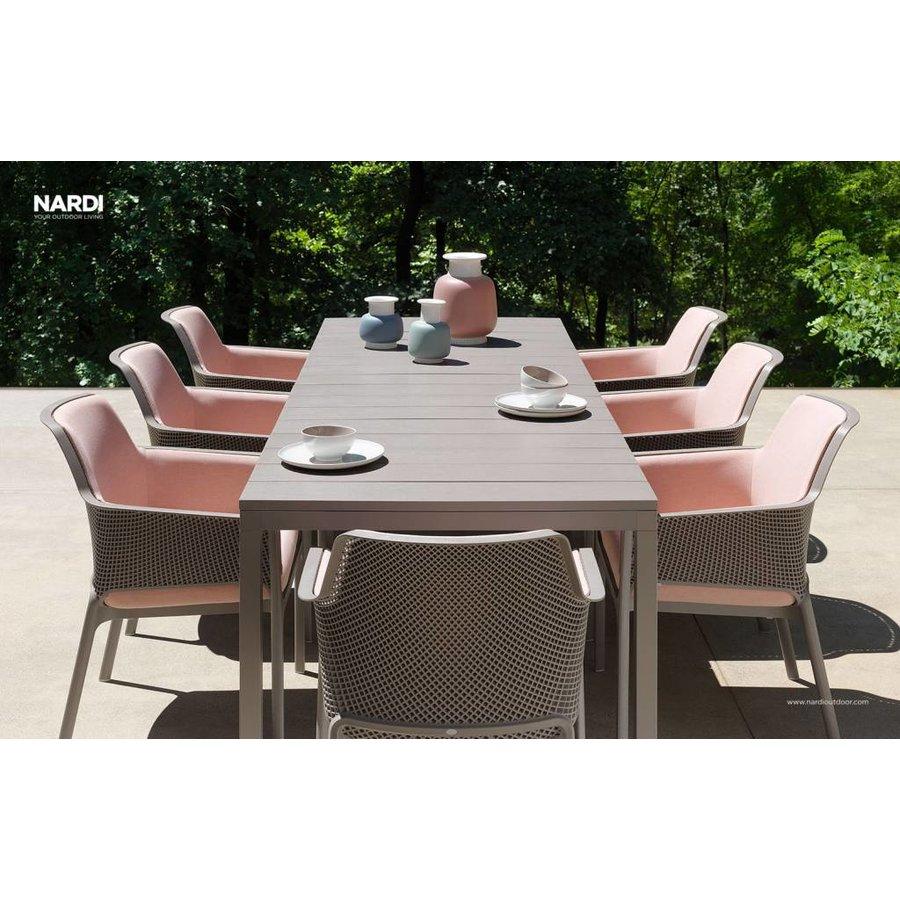 Lounge Tuinstoel - NET Relax - Tortora - Taupe - Nardi-4