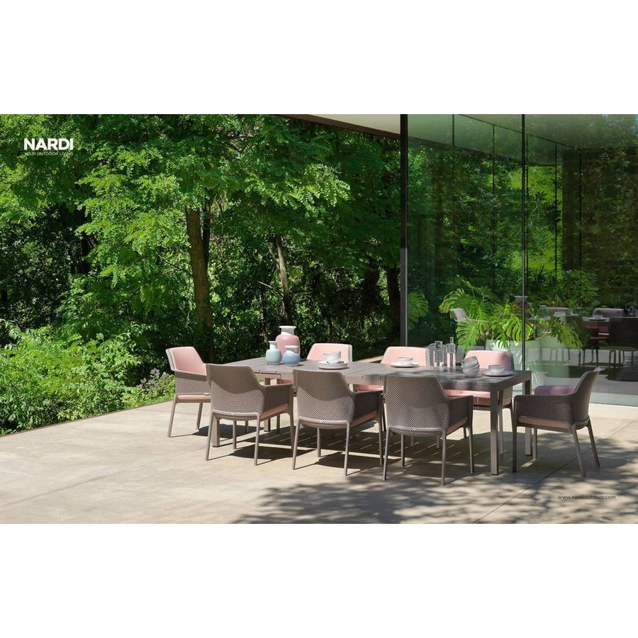 Lounge Tuinstoel - NET Relax - Tortora - Taupe - Nardi-5