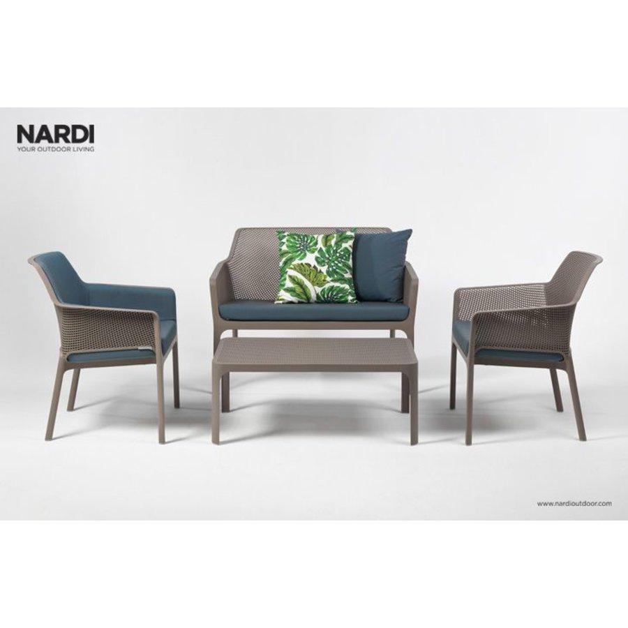 Lounge Tuinstoel - NET Relax - Tortora - Taupe - Nardi-7
