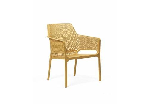 Lounge Tuinstoel - NET Relax - Senape - Mosterd Geel - Nardi