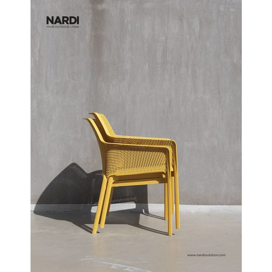 Lounge Tuinstoel - NET Relax - Senape - Mosterd Geel - Nardi-3