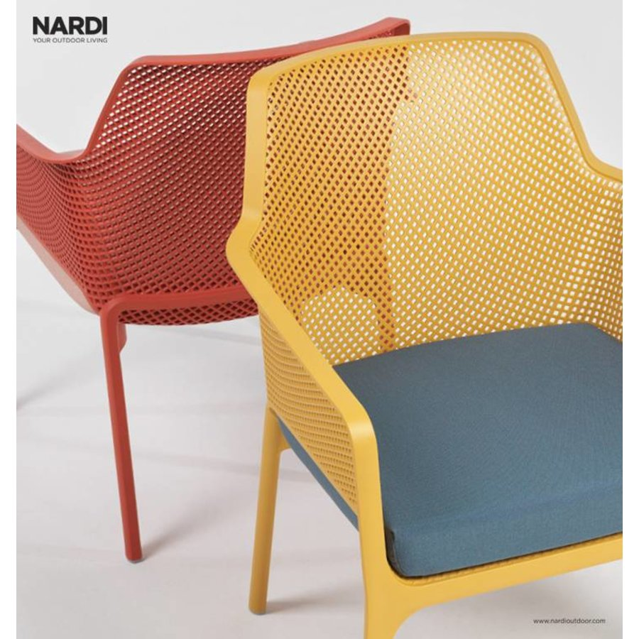 Lounge Tuinstoel - NET Relax - Corallo - Rood - Nardi-6
