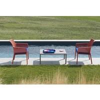 thumb-Lounge Tuinstoel - NET Relax - Corallo - Rood - Nardi-4