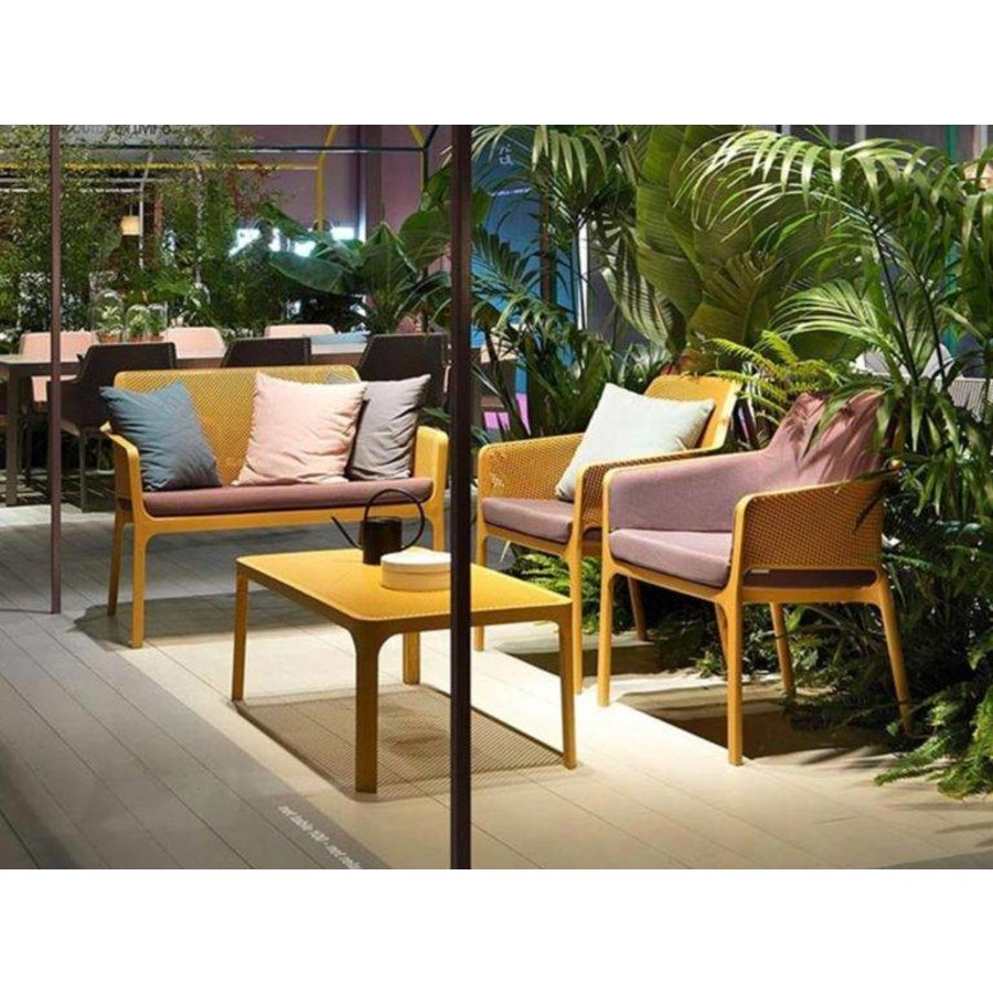 Lounge Tuinstoel - NET Relax - Senape - Mosterd Geel - Nardi-5