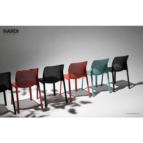 Nardi Tuinstoel - Bit - Corallo - Rood - Nardi