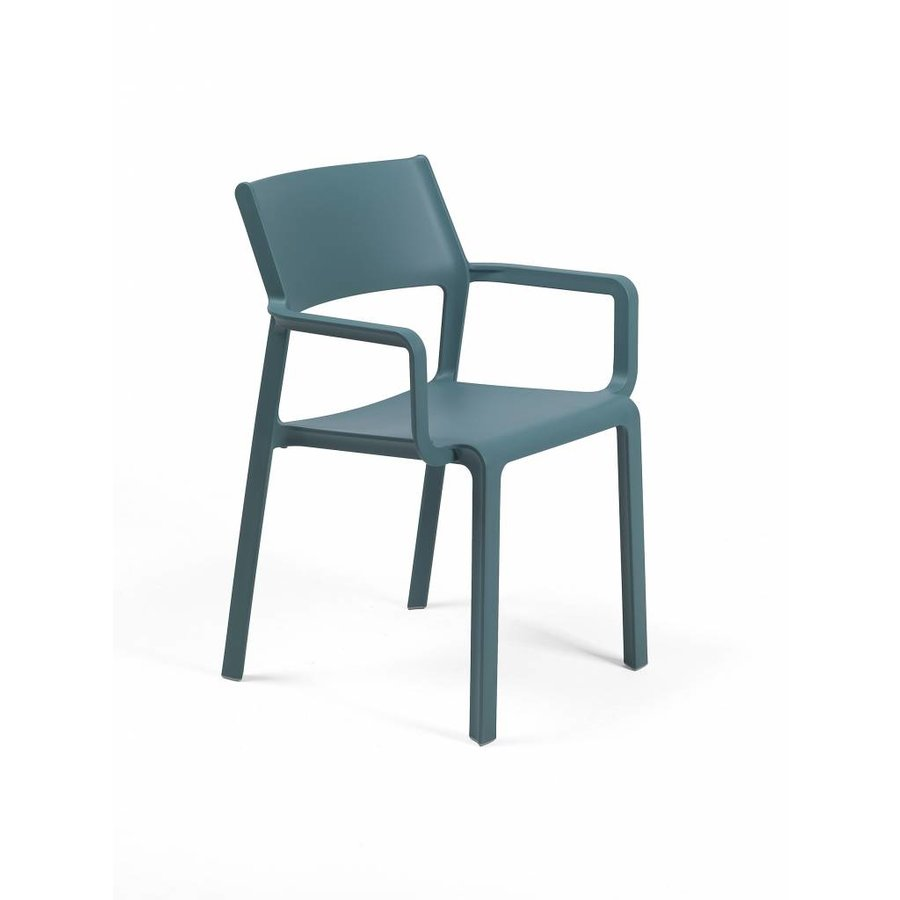 Stapelbare Armstoel - TRILL - Ottanio - Blauw - Nardi-1
