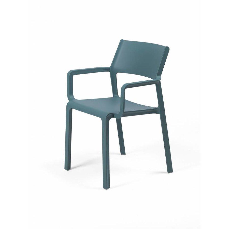 Stapelbare Armstoel - TRILL - Ottanio - Blauw - Nardi-2