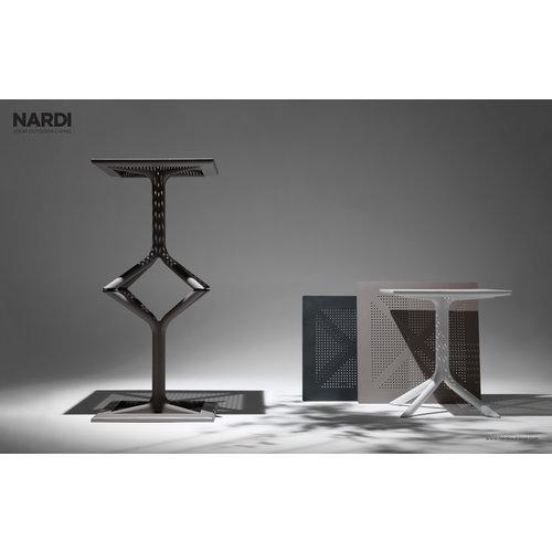 Nardi Bistro Tuintafel - 80cm - CLIP - Wit - Nardi
