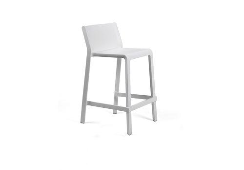 Stapelbare Barkruk - 65 cm - TRILL MINI - Bianco - Wit - Nardi
