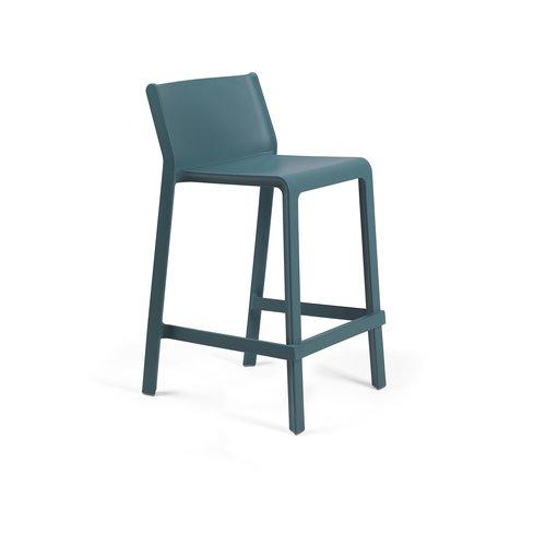 Nardi Stapelbare Barkruk - 65 cm - TRILL MINI - Ottanio - Blauw - Nardi