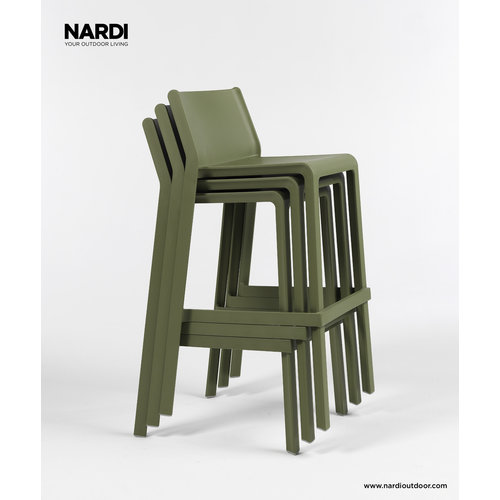 Nardi Stapelbare Barkruk - 76 cm - TRILL - Bianco - Wit - Nardi
